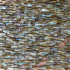 Muscle Strip Colorful Mother Of Pearl Mosaic Tiles