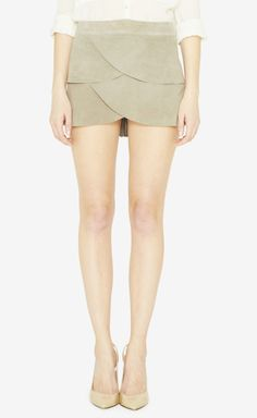 Geren Ford Grey Skirt | VAUNTE