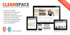 This Deals CleanSpace Retina Ready Web Templatelowest price for you. In addition you can compare price with another store and read helpful reviews. Buy