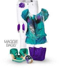 """""""Violet Dream"""" by maggiebags ❤ liked on Polyvore"""
