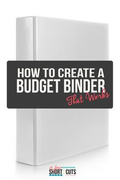 Create a Budget Binder That Works Get your finances in order, and simply. Find out how to create a budget binder that actually works!Get your finances in order, and simply. Find out how to create a budget binder that actually works! Budget Help, Making A Budget, Create A Budget, Diy On A Budget, Making Ideas, Budget Binder, Budget Planner, Budget Spreadsheet, Budgeting Finances