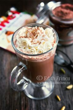 Frappe, Hot Chocolate, Food And Drink, Pudding, Drinks, Cooking, Desserts, Recipes, Espresso