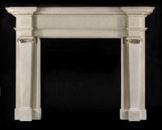 Warren limestone fire surround