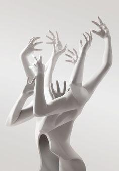 Escultura. #Arte de Stephane Benedett. Me encanto! Tendría uno asi en casa.