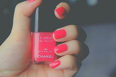 Chanel Nail Color <3