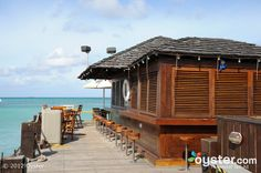 Piets Pier Bar at the Hyatt Regency #Aruba Resort and Casino via @beachbarbums @sand_stilettos #Caribbean #travel