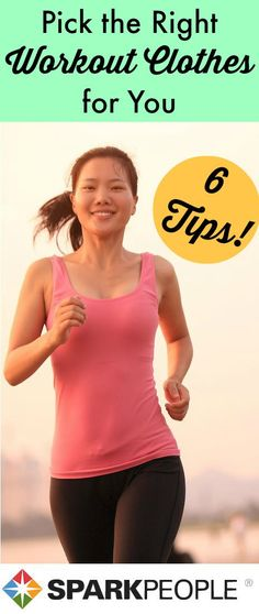 6 Things to Look for When Buying #Exercise Apparel. Can't wait to update my #workout wardrobe for #spring! | via @SparkPeople