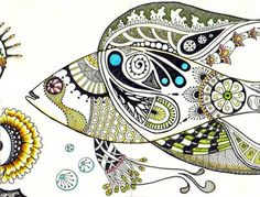Outstanding blog for Zentangles