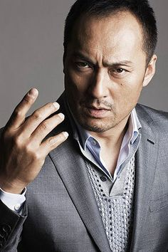 """Ken Watanabe.....such an awesome actor....(Japanese origin), so talented. Loved him in """"The Last Samurai""""."""