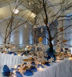 Elegant Party Decoration Ideas | 50th Birthday Party Decorations Ideas: Table Decorations Ideas For ...