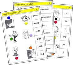 Lezen: VLL / VIS: Pico Piccolo Primo/Rondo: Kaarten kern 2 Daily Five, Dutch Language, Spelling, Mini, Teacher, School, Index Cards, Games
