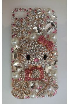 $119 OMG! THIS IS SO MINE!   ReveBoutique.com Exclusive  H Pink Kitty Accessory Cellphone Case
