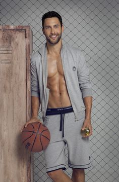Noah Mills Dons Dolce & Gabbana's Gym Collection
