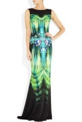 ROBERTO CAVALLI Printed stretch-jersey gown $1195 PRE ORDER SPECIAL  http://hollyrotic.mybigcommerce.com/roberto-cavalli-printed-stretch-jersey-gown-1195-pre-order-special/