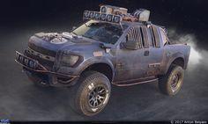 Ford T150 Raptor — Компьютерная графика и анимация — Render.ru