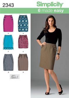 Simplicity 2343 - Recommended by PatternReview.com