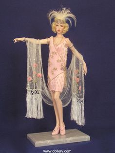 Catherine Mather Dolls at the Dollery