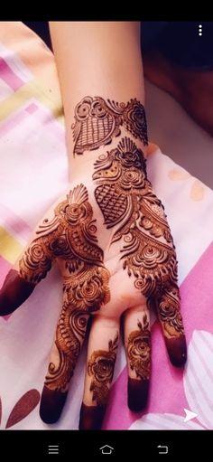 Henna Tattoo Designs Arm, Mehndi Designs For Fingers, Mehandi Designs, Mehndi Design Images, Beautiful Mehndi Design, Finger Henna, Mehendi, Dreams, Tattoos