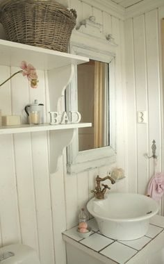 I love the sink... Perfect for our little farm house.... It allows for some counter space in a small bathroom.