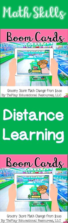 Boom Cards Grocery Store Math Change from $5 dollars with cute kid characters is a fun way to practice basic calculation, life skills, and math word problem skills. Boom Cards are compatible with Google Classroom™ .Assign Boom Cards with Google Classroom™. Boom Learning is an Academics' Choice Awards™ Smart Media award winner.