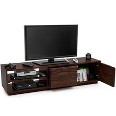 Zephyr TV Unit (Mahogany Finish)