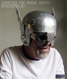 Cool helmet minus the lightning bits