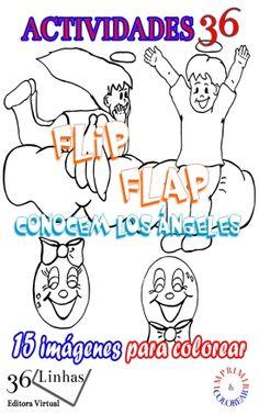 Este eBook presenta el primer libro de los Flip Flap en la impresión y la pintura, basado en el libro para niños Flip Flap - Conocen los ángeles.