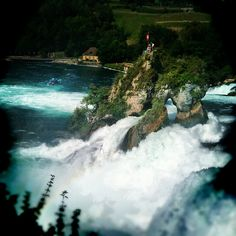 Rheinfall, Switzerland!