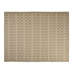 On sale for $295.00, the Orla Kiely Linear Stem Throw Rug in mushroom is a great buy from Contemporary Pieces.  Rug up in style with this gorgeous throw featuring the linear stem prin. 100% lambswool.  Fabulous addition to any interior.