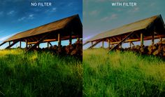 With the exception of the filters used for black-and-white photography (see the article Black & White Landscape Photography) the numbers of filters used for capturing color landscapes are few, mostly due to the fact that, in digital imaging, many white balance and filter effects can be addressed in camera.