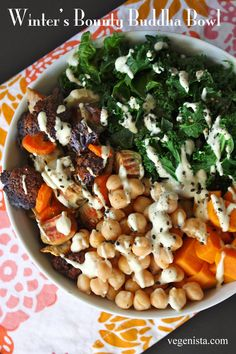 "Winter's Bounty Buddha Bowl Did you happen to miss the recipe for my ""Winter's Bounty Buddha Bowl"" that I shared yesterday? Fret..."