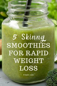 5 Best Smoothie Recipes for Weight Loss 5 skinny smoothies for rapid weight loss. these healthy, nutritious and delicious smoothies Weight Loss Smoothie Recipes, Weight Loss Meals, Best Smoothie Recipes, Yummy Smoothies, Fast Weight Loss, Healthy Weight Loss, Lose Weight, Healthy Food, Breakfast Smoothies