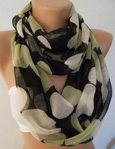 Infinity Scarf Not Tube Loop Scarf Circle Scarf  Elegant by womann, $18.00