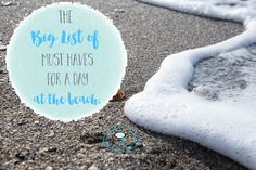 The Big List of Things You Need For A Day At The Beach - www.stage-presents.com