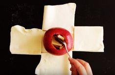 OPREZ - KREĆE VODA NA USTA: Isekla je testo i na njega stavila jabuku. Krajnji rezultat? Mmmm!