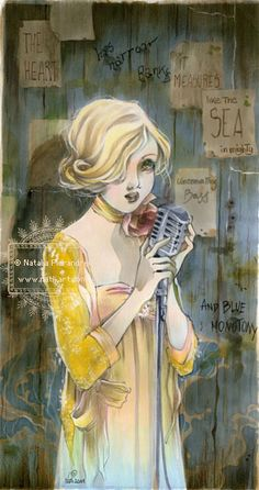 La Cantante by nati.deviantart.com on @deviantART