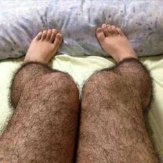 An image of hairy stockings for legs, ostensibly designed to fend off perverts, has gone viral on Sina Weibo.