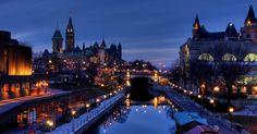 Pontos turísticos em Ottawa #viagem #canada #viajar