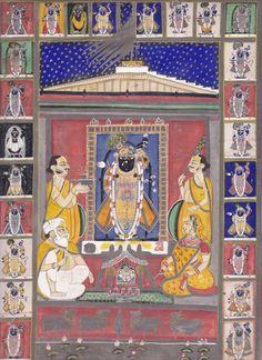 Jai Shree Krushna .. Shrinathji pichhwai