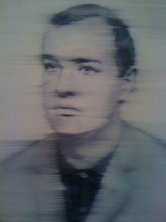 Gerhard Richter ~ Portrait of Müller, 1965 Black And White Painting, Black And White Portraits, Painting & Drawing, Action Painting, Gerhard Richter Painting, Der Richter, Alien Art, European Paintings, Science Art