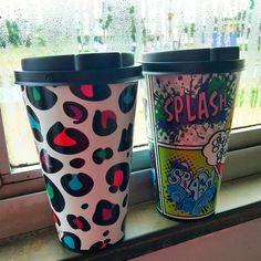 Recebidos do Mês: Artigos de Decoração da Loja Gorila Clube #copos #decoração Travel Mug, Blog, Tumblr, Mugs, Tableware, Post Box, Cups, Home Furnishings, Club