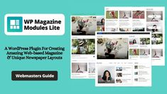 WP Magazine Modules Lite is a handy and user-friendly WordPress plugin for creating different styles of magazine layouts. This plugin works perfectly with Gutenberg and is fully compatible with the Elementor page builder that enables the drag & drop feature. Webpage Layout, Newspaper Layout, Web Business, Magazine Layouts, Grid Layouts, Blog Sites, Wordpress Plugins, Design Development, Web Design