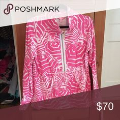 EUC Lilly Pulitzer skipper popover size M Cabana Boy print! Great condition and fairly rare. Size medium. Lilly Pulitzer Tops