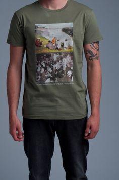 Lifetime Collective / Uniform Standard / TEES / BROTHERHOOD - ARMY GREEN