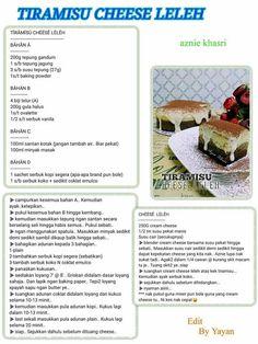 Malay Cake, Resep Cake, Vanilla Sponge Cake, Biscoff, Marble Cake, No Bake Cheesecake, Secret Recipe, Recipe Cards, Hijab Fashion