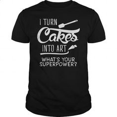 Turn Cakes into art - #womens hoodies #lrg hoodies. ORDER NOW => https://www.sunfrog.com/Jobs/Turn-Cakes-into-art-Black-Guys.html?60505