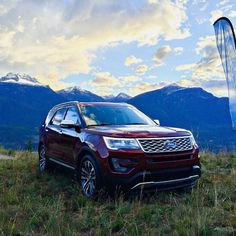 The view from the 2016 #Ford Explorer Platinum. #ExploreMore : @txtypeamom  #Ford #Explorer #mountains #outdoors #photography