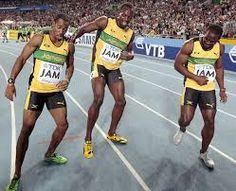 Jamaican 4X100 Relay Team - The team consisted of Usain Bolt, Nesta Carter, and…