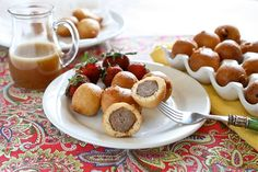 Pancake Sausage Bites 005 by Hungry Housewife, via Flickr