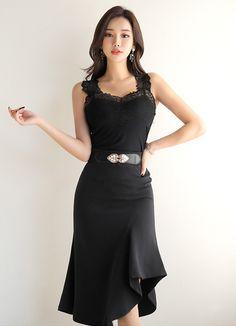 Korean Fashion – How to Dress up Korean Style – Designer Fashion Tips Korean Fashion Trends, Korea Fashion, Asian Fashion, Look Fashion, Fashion Beauty, Girl Fashion, Fashion Dresses, Womens Fashion, Fashion Design